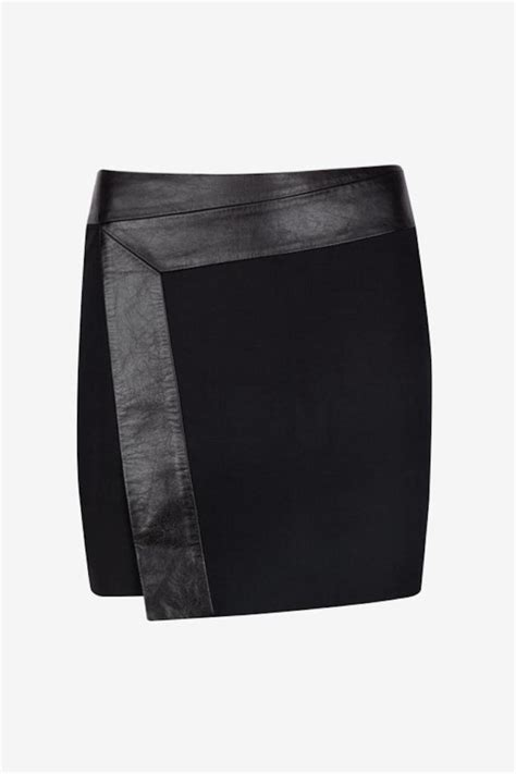 ted baker zyana leather skirt from alexandria by duchess m