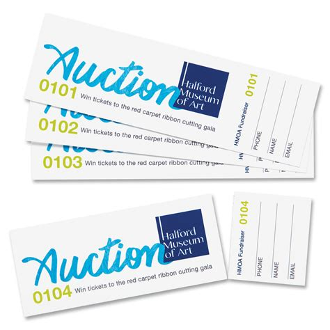 printable tickets with tear away stubs avery 16154 tear away stubs custom printable tickets 1 3 4