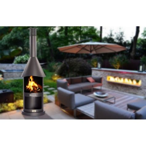 Cheminee D Exterieur Barbecue by Chemin 233 E D Ext 233 Rieur Barbecue Pocket Noir