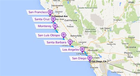 Pch San Francisco To Los Angeles - nexen today