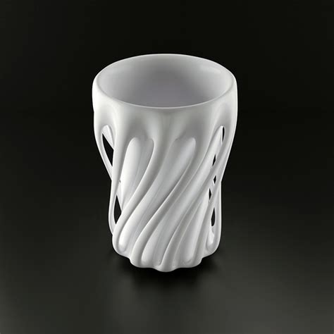 cup designs dancing cups yanko design