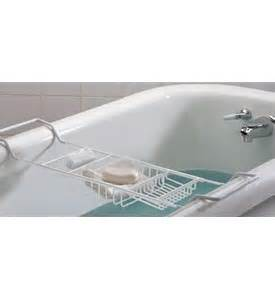 expandable bathtub caddy expandable bath caddy white in tub caddies and accessories