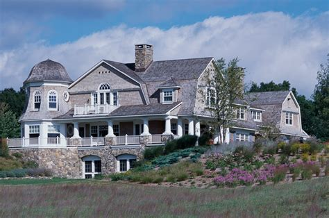 Luxury Mansions Floor Plans by Get The Look Shingle Style Traditional Home