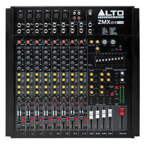 Mixer Alto Zmx 124 mesa de som alto zephyr zmx124fx usb mixer alto na