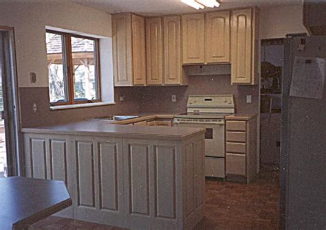 Pickled Wood Kitchen Cabinets by Woodcrafters Carpentry Cabinetmaking