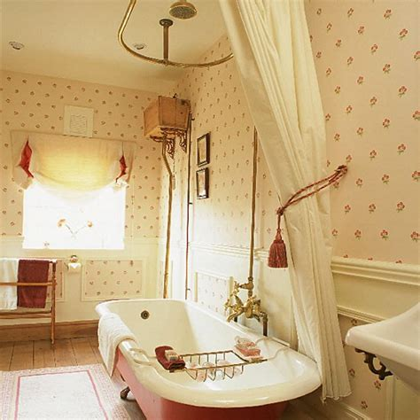 Roll Top Bath With Shower Curtain bathroom design ideas french bathroom decor