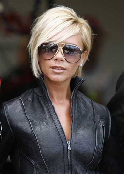 victoria beckham layered bob hairstyles back view 25 best ideas about short bob hairstyles on pinterest