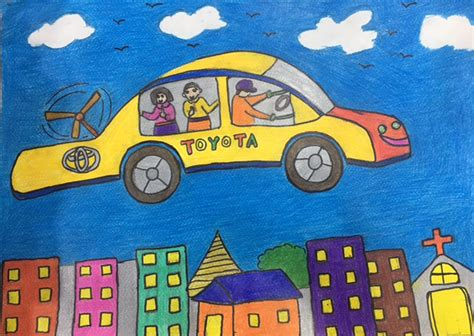 Drawing Contest by 12th Toyota Car Contest