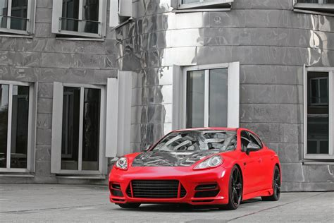 porsche germany red porsche panamera tuning by anderson germany