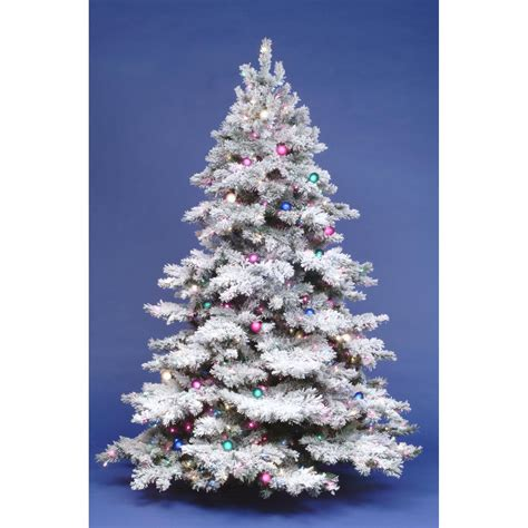 how do i fix my prelit xmas tree 4 5 ft flocked alaskan pre lit tree at hayneedle