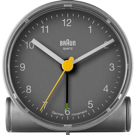 braun alarm clock bnc001gygy chriselli