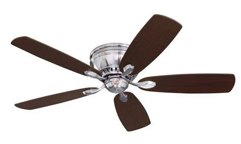 What Do Ceiling Fans Do by Emerson Cf905bs Brushed Steel Prima Snugger 52 Quot 5 Blade Ceiling Fan Blades Included