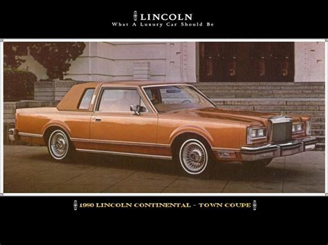 1980 lincoln continental town coupe memories 80 s