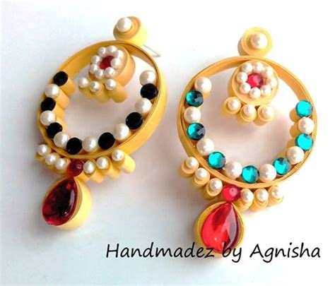 Handmade Paper Jewellery Ideas - handmadez by agnisha my quest to explore an infinite