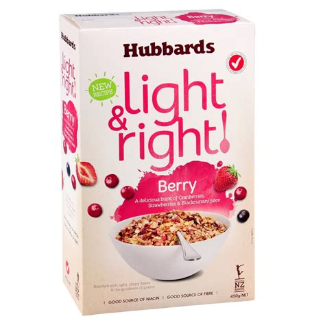 Stick Flakes 64 Pcs hubbards light right berry breakfast muesli cereal