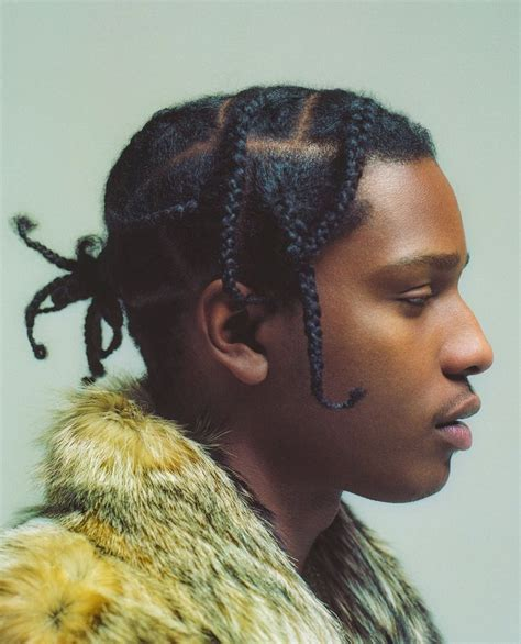 hairstyles without braids 25 hip asap rocky braids styles for guys with long hair