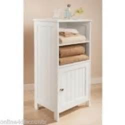 floor standing bathroom storage white colonial bathroom floor standing cabinet shelves