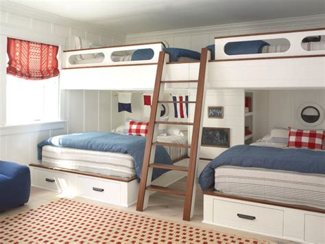 bedroom for 4 how to create nautical bedrooms on any budget home