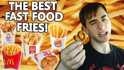 WHO HAS THE BEST FAST FOOD FRENCH FRIES?!? - YouTube Arby's