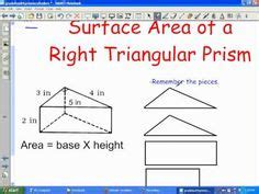 right section of a prism 1000 images about math volume surface area on