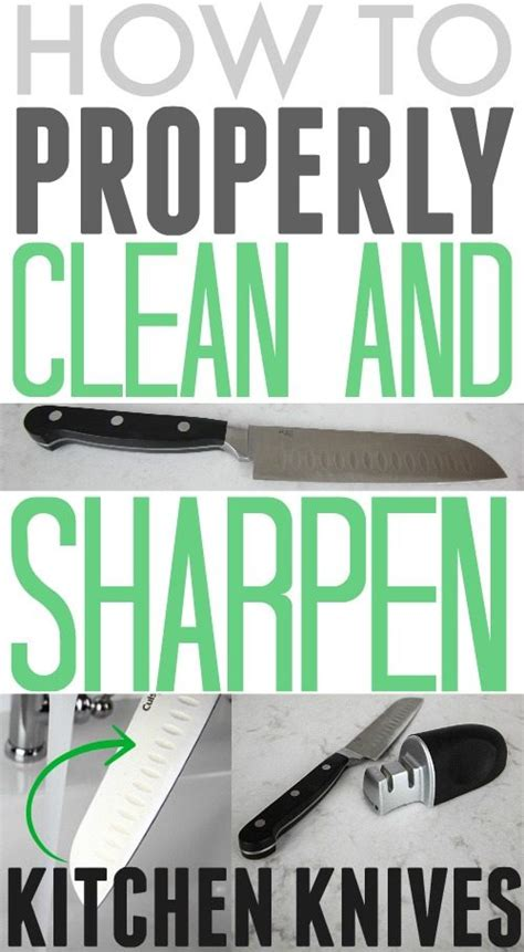how to sharpen and care for your kitchen knives how to properly clean and sharpen kitchen knives the