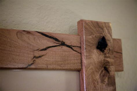 woodworking project making  mesquite picture frame
