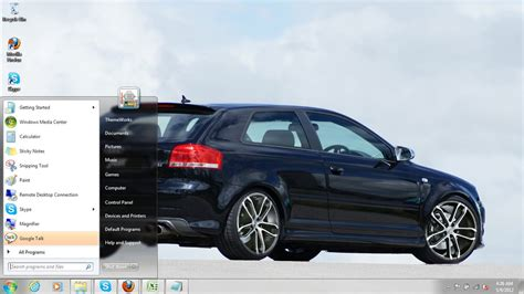 theme windows 10 audi audi s3 2007 windows 7 theme by windowsthemes on deviantart