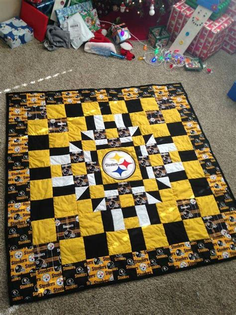 Steelers Quilt by 1000 Ideas About Steelers Football On
