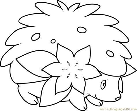 pokemon coloring pages shaymin shaymin pokemon coloring page free pok 233 mon coloring