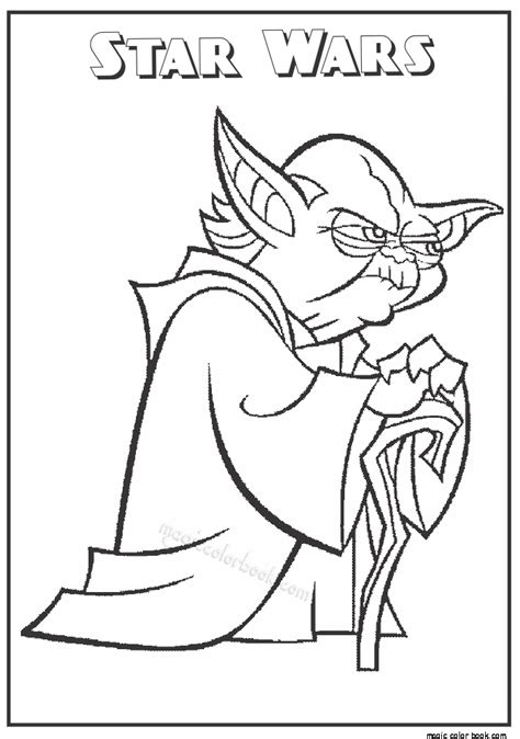 printable coloring pages of star wars pages