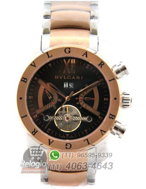 Bvlgari Premium Aaa r 233 plica de rel 243 gio bulgari homem de ferro ros 234