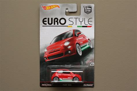 Hotwheels 164 Style Fiat 500 wheels 2016 car culture style fiat 500