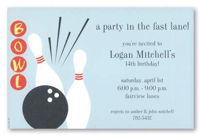 bowling invitations theruntime