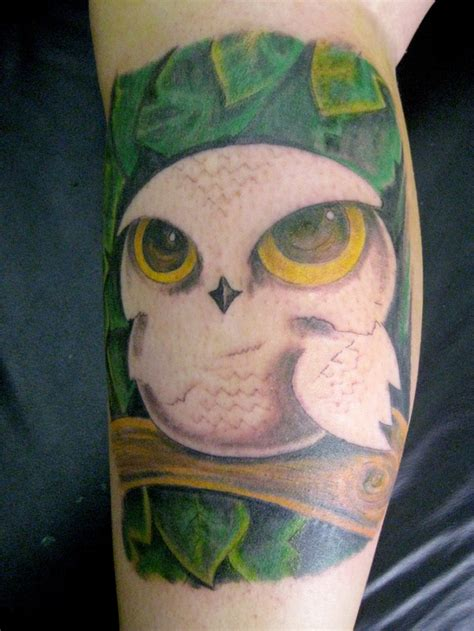 white owl tattoo 15 outstanding owl tattoos me now