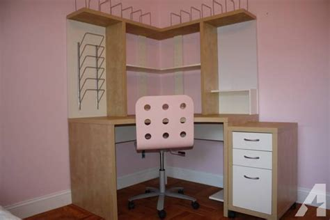 Ikea Corner Desk Unit Ikea Mikael Corner Workstation Desk And Separate Matching Drawer Unit For Sale In Palo Alto