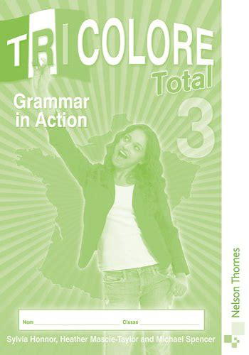 libro tricolore total 3 tricolore total 3 grammar in action parentheses shop