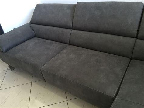 divano grigio scuro divano egoitaliano modello malika effetto pelle vintage
