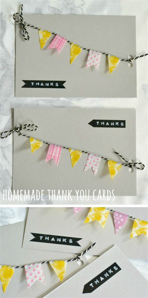 Ideas For Handmade Thank You Cards - and thank you cards decorator s notebook