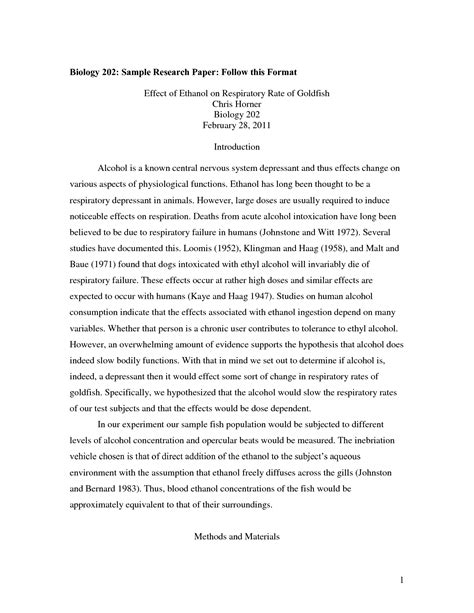 Research Papers Exles Essays by Biology Research Paper Essays