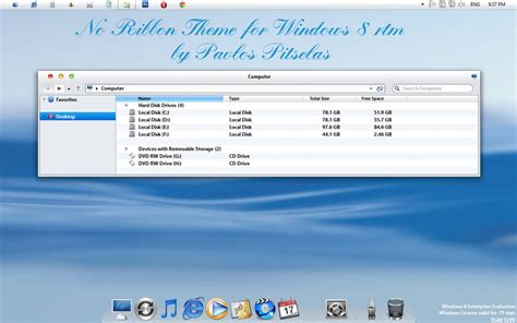 mac themes for windows 8 1 free download no ribbon mac osx style theme for windows 8 rtm by zeusosx