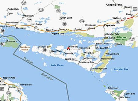 map of manitoulin island ontario canada manitoulin treaty of 1862 cause consequence