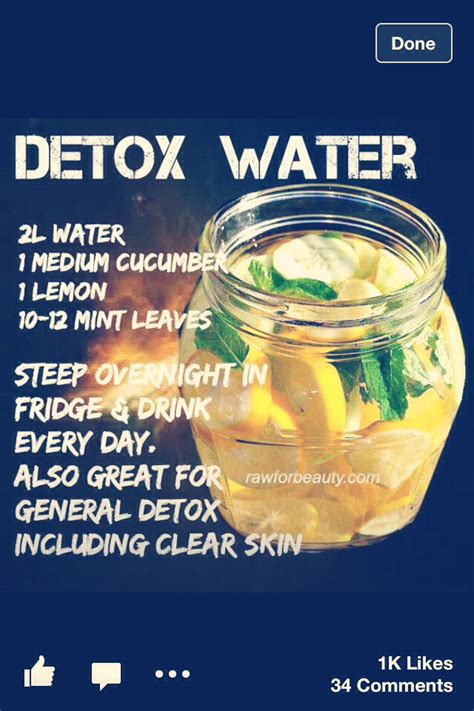 How Detox Water Works detox trusper