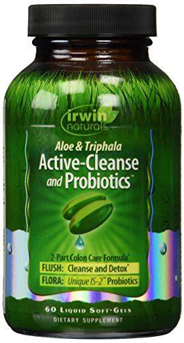 Active Detox Probiotic by Irwin Naturals Active Cleanse And Probiotics Diet