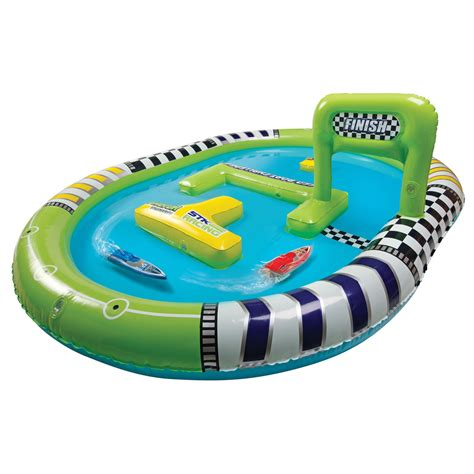 rc boats on water inflatable rc speedboat water raceway the green head