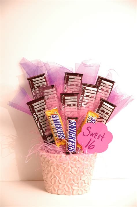 sweet gifts for sweet 16 bouquet by day chef by