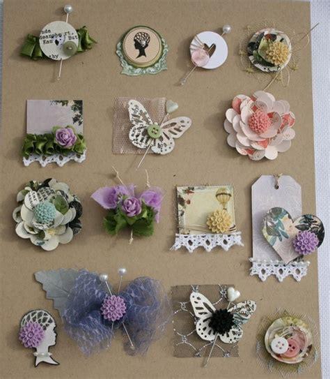 Handmade Embellishments - embellishment ideas paper embellishments