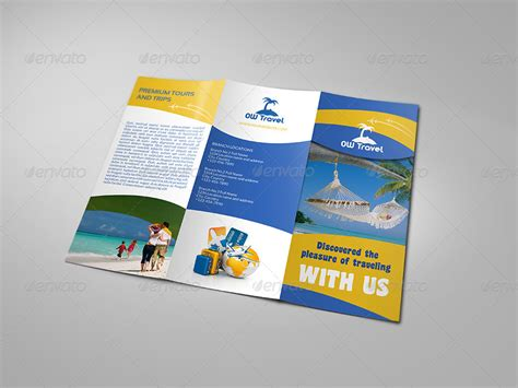 travel company trifold brochure travel companies and brochures