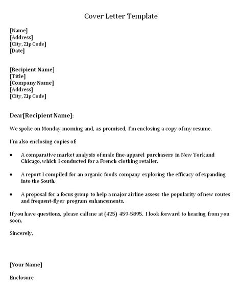 cover letter exle cover letter template the muse