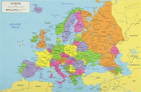 map of european continent europe continent europe map list of countries in
