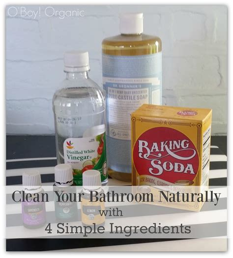 natural ways to clean bathtub how to spring clean your bathroom naturally